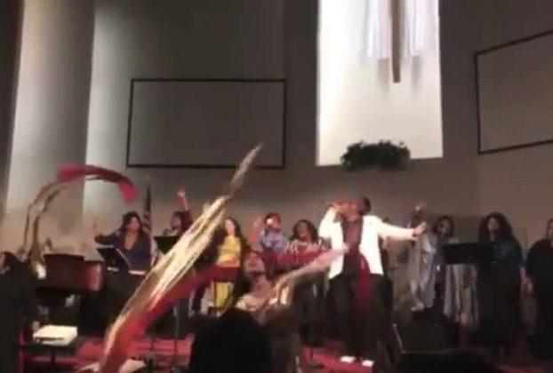 diverse multicultural worship celebration